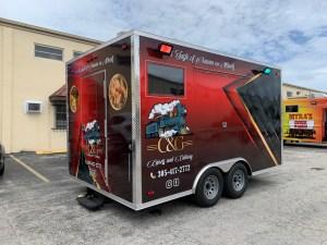 Concession trailer C&G