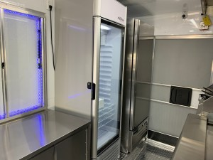 refrigerator for a food truck