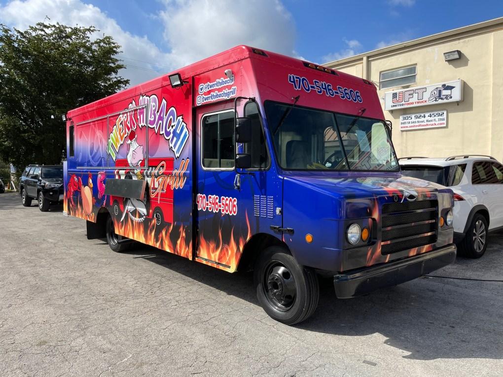 Hibachi food truck