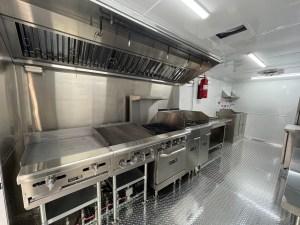 kitchen for bbq trailer