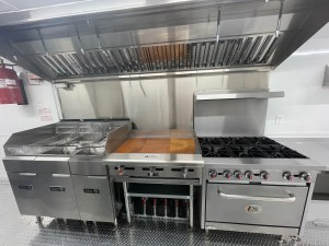 kitchen for a container