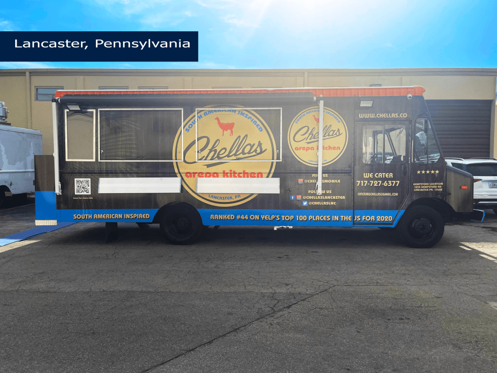 latin food truck for sale