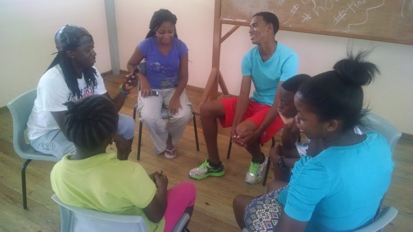 Training was held for youth advocates from the general pubic