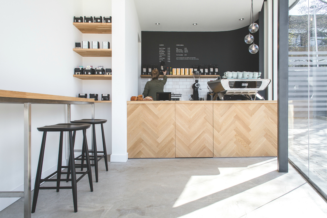Origin Coffee Aircraft Factory London