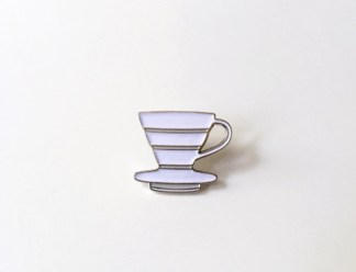 V60 Dripper Enamel Badge