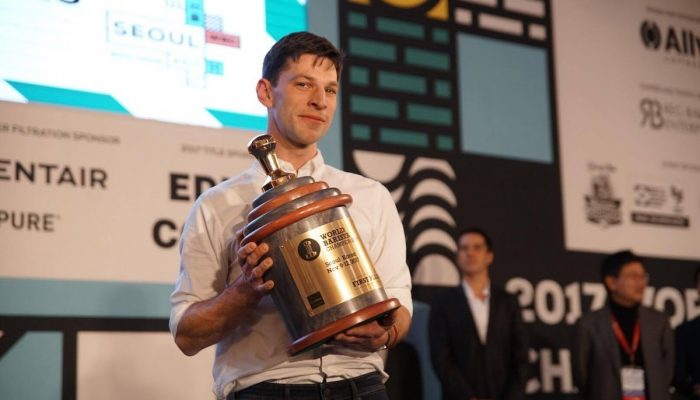 Dale Harris, World Barista Champion 2017