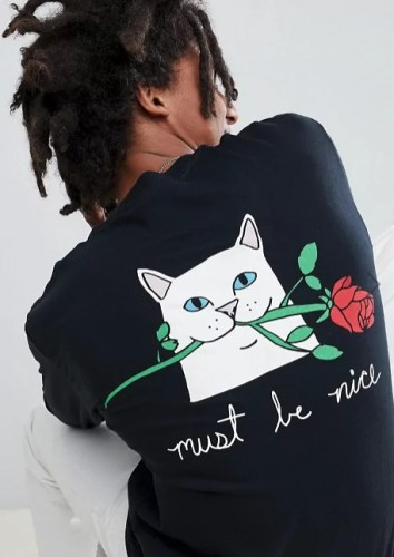 taylor swift reputation tour outfit ideas asos romantic cat long sleeve tee