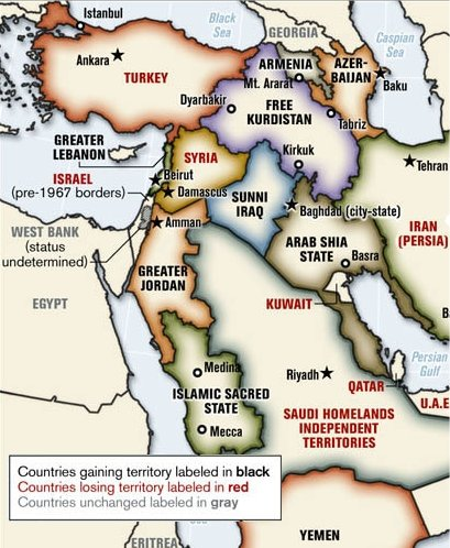New Middle East Map Dougs Darkworld
