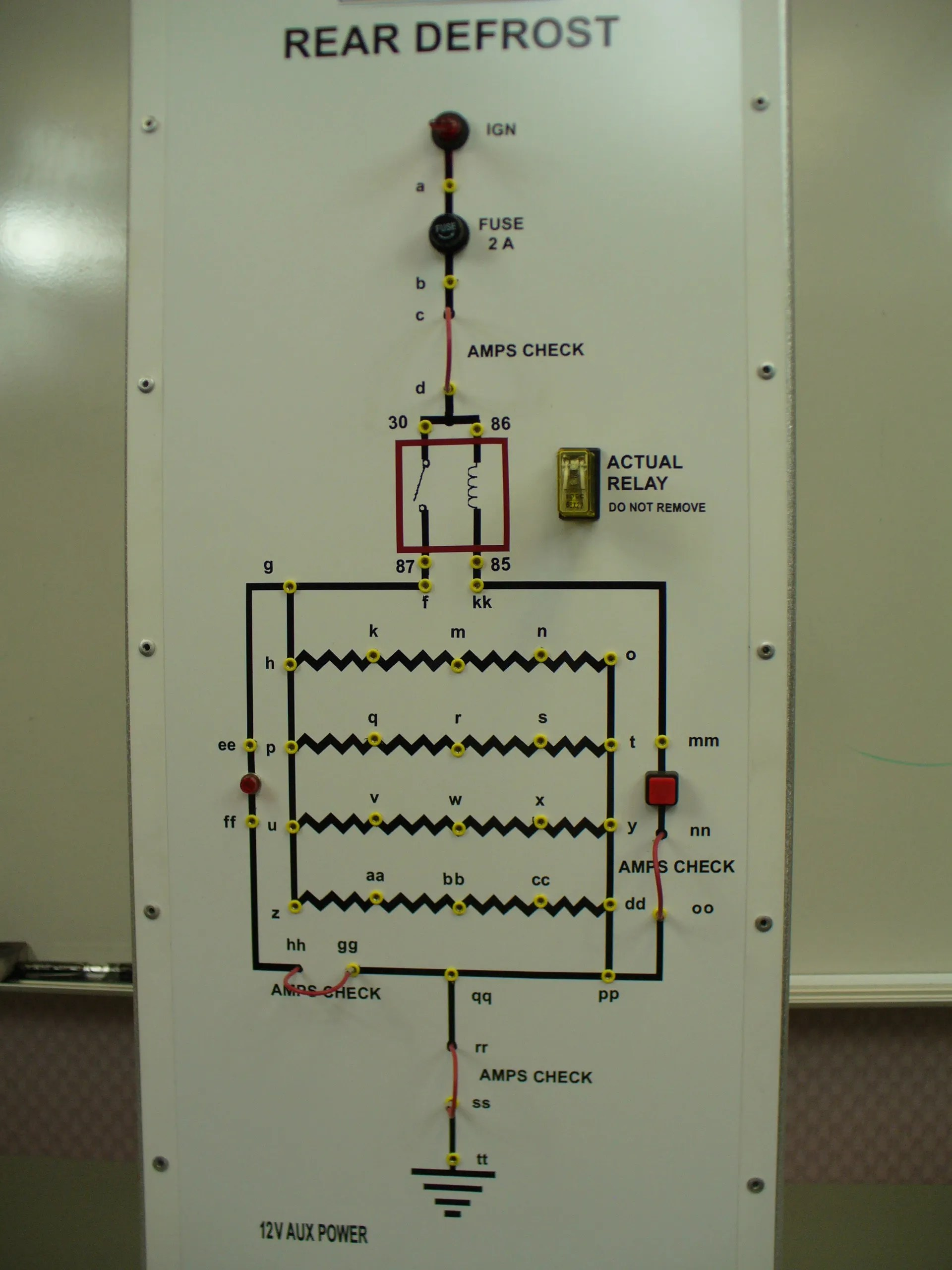 Series Of Parallel Circuits