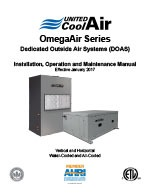 OmegaAir Installation Manual Cover
