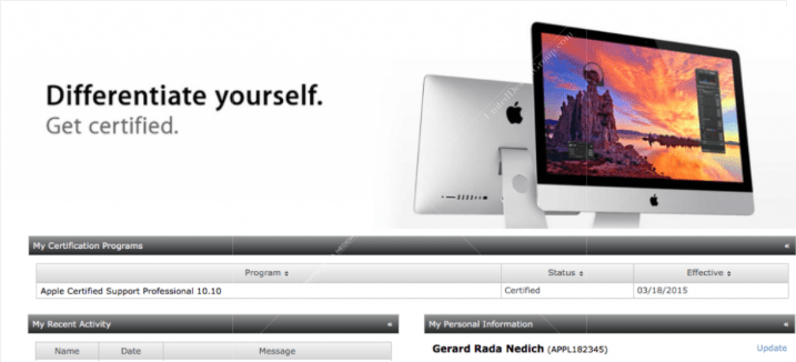 Apple Certified Support Professional 10.10