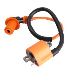 performance racing ignition coil for yamaha pw50 pw80 motorcycle dirt pit bike all years new [ 1001 x 1001 Pixel ]