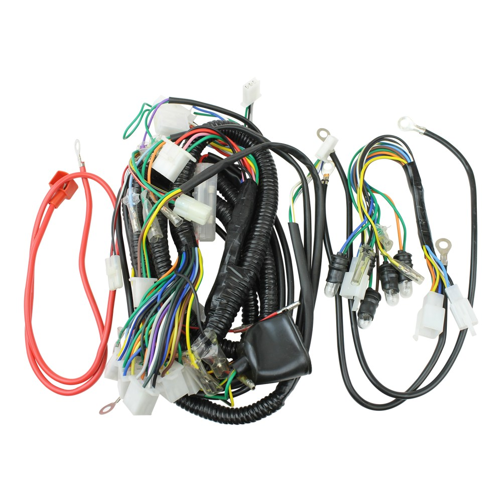medium resolution of wiring harness 50cc scooter vip gy6 50cc scooter wiring harness 50cc scooter wiring harness