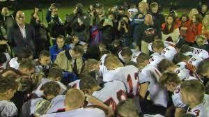 coach praying