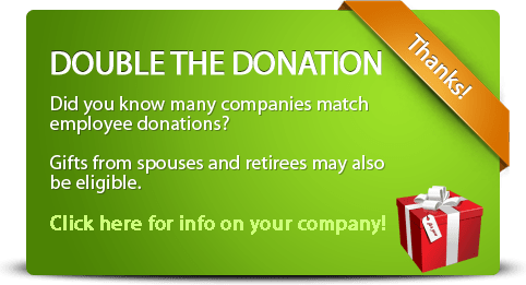 Double or Triple Your Donation!