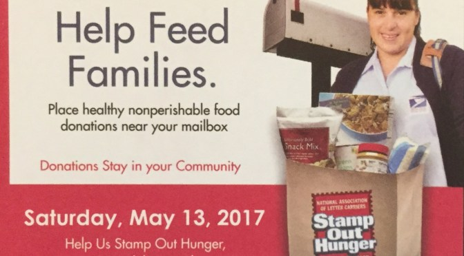 Food donated through Letter Carriers drive really helps
