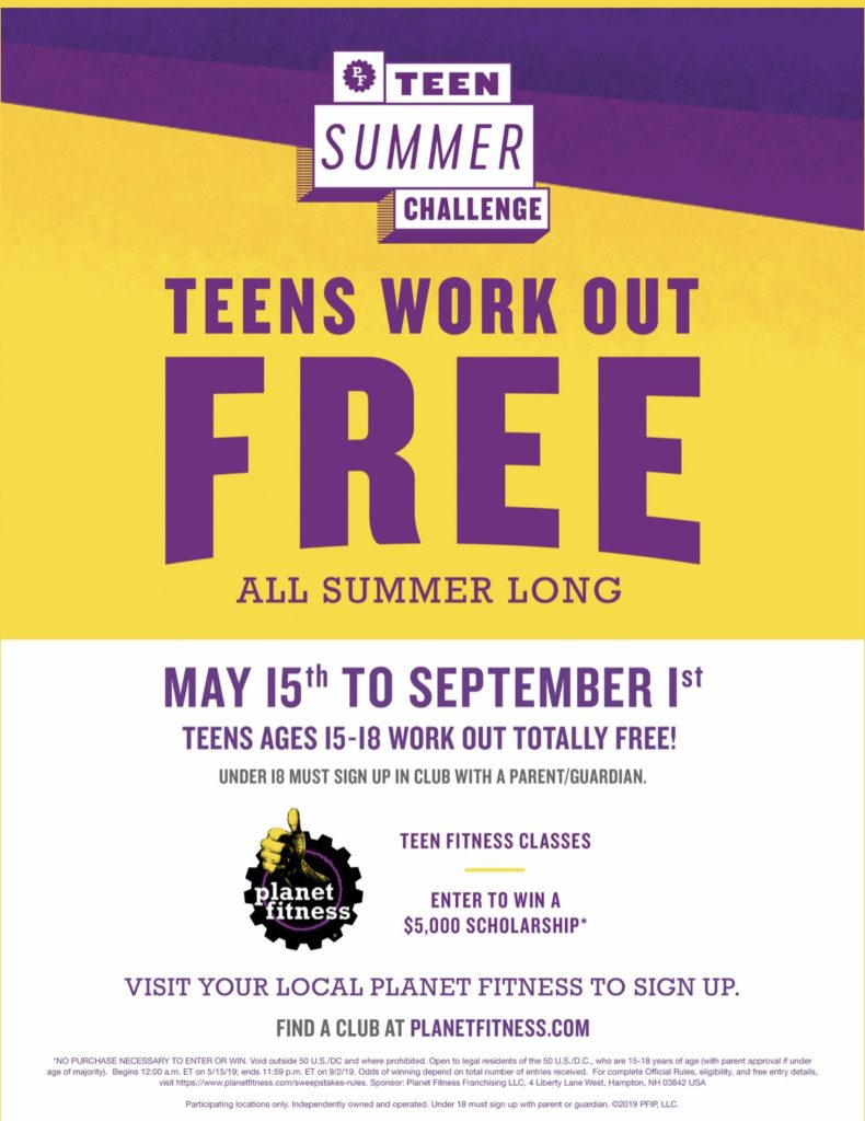 Closest Planet Fitness Near Me : closest, planet, fitness, Teens, 15-18, Planet, Fitness