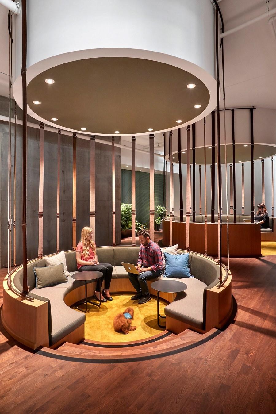 innovative workspace interiors 2019