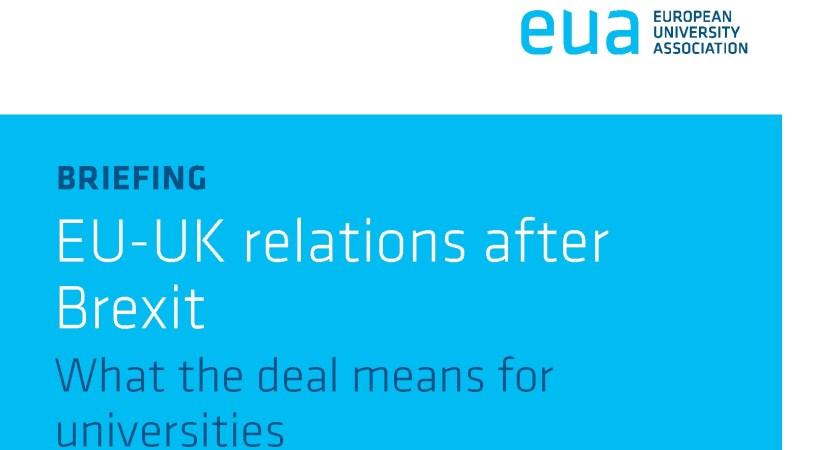 EU-UK relations after Brexit