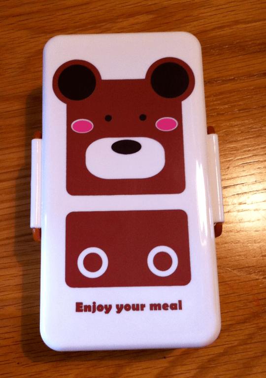 blippo.com, bento, box, animal, bear, Japanese