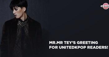 MR.MR, Tey, Solo, Dangerous, Greeting