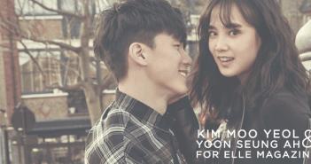 Kim Moo Yeol, Yoon Seung Ah, London, ELLE, Magazine, Pictorial, 2015