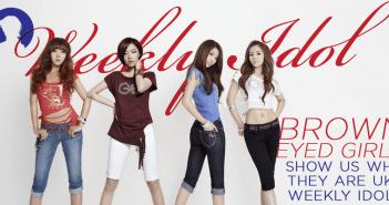 Brown Eyed Girls, Weekly Idol