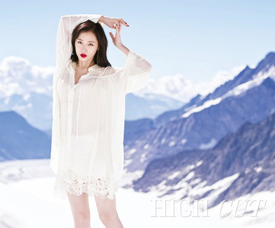 Sulli High Cut
