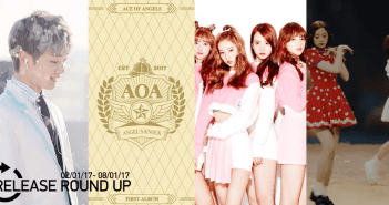 Release Round Up, January 2016, AOA, TopSecret,, APRIL, Cosmic Girls