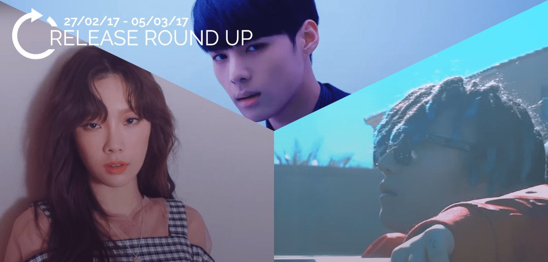 Release Round Up, Taeyeon, VICTION, BLANC7, PENOMENCO