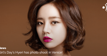 Girls Day, Hyeri, Italy, Venice, Photo shoot