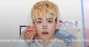 Cha Hun, N.Flying, Gordon Ramsay, Food, Twitter, K-Pop