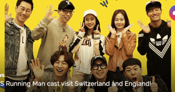 SBS Running Man, Switzerland, England, UK, Europe