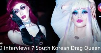 Drag Queens, Seoul, South Korea, Korea, i-D, VICE