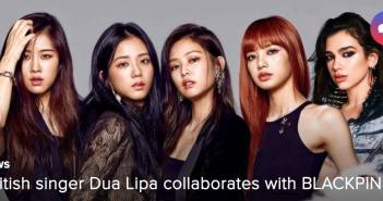 Dua Lipa. BLACKPINK, UK, YG Entertainment
