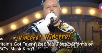 Paul Potts, Britain's Got Talent, Mask King, MBC, Variety, South Korea