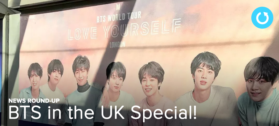 BTS, UK, London. News