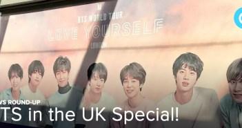 BTS, UK, London. News