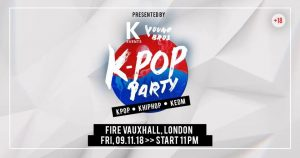 Upcoming Events. YoungBros, Party, K-Pop, November 2018