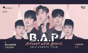 B.A.P, BAP, Europe, Tour, BABYz, Concert, London, Troxy