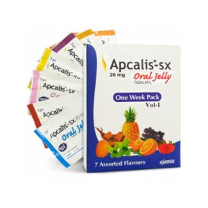 Buy Apcalis Oral Jelly 20mg - Apcalis SX - Tadalafil