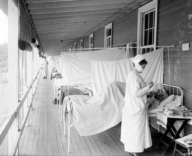 influenza-ward-Walter-Reed-Hospital-Washington-DCLibrary of Congress, Washington, D.C. (cph 3a39569)