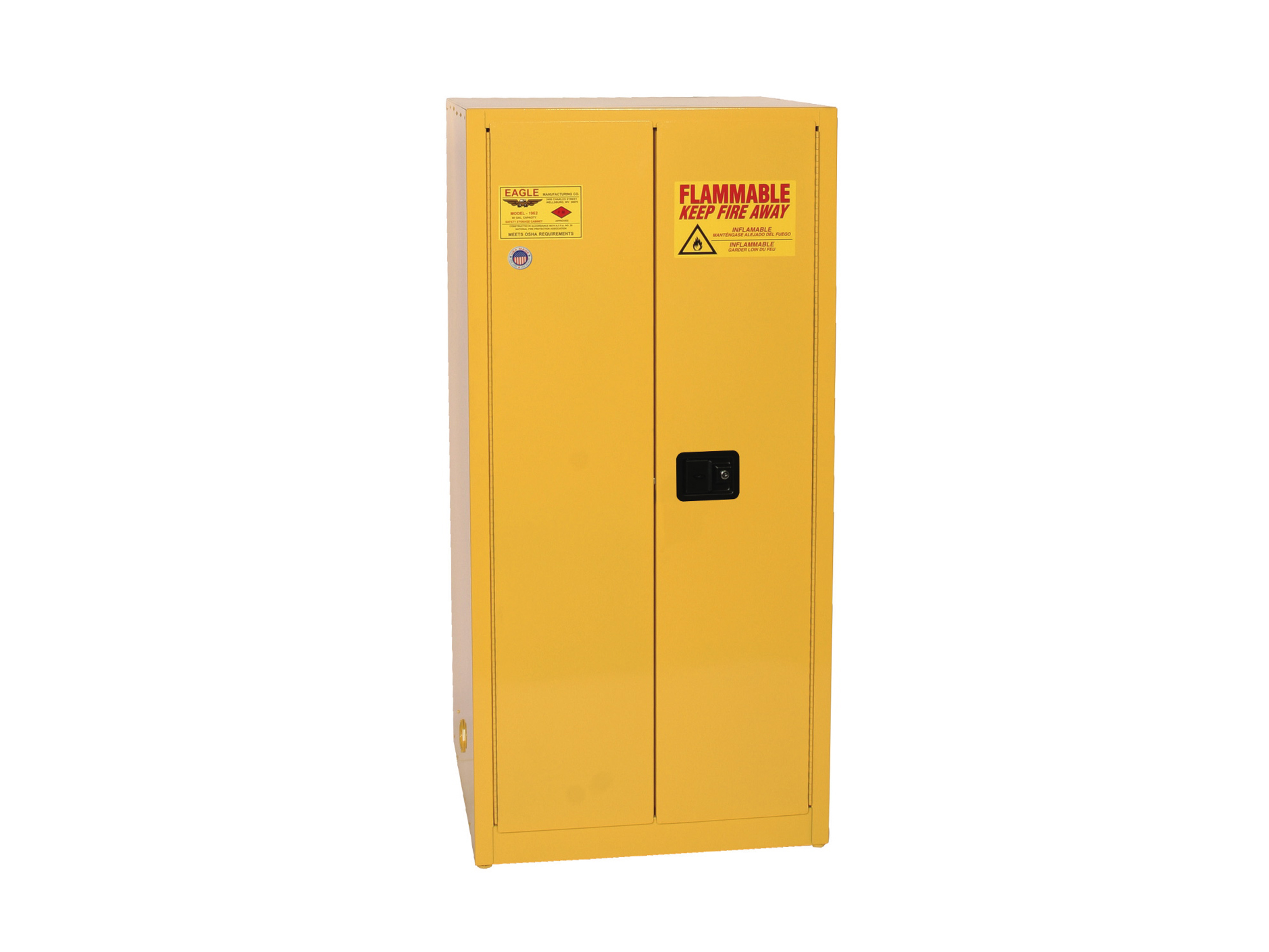 60 Gallon Flammables Safety Cabinet United Resources