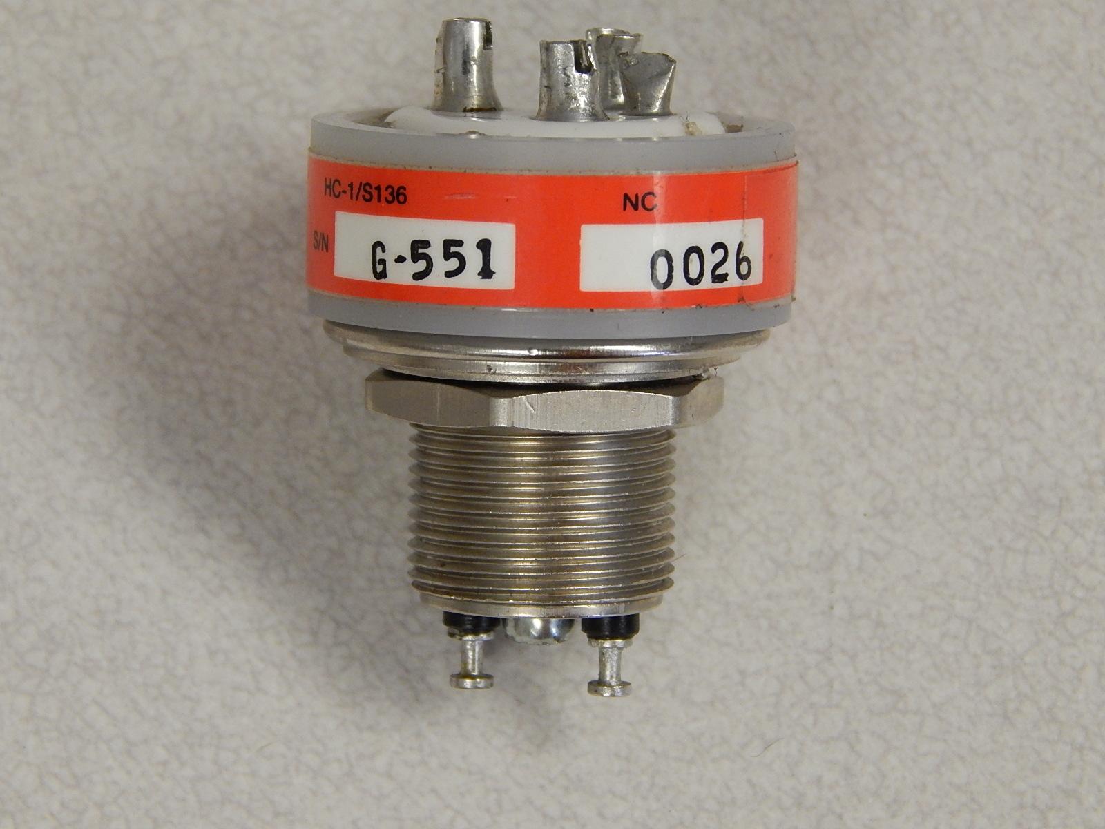 KILOVAC HIGH VOLTAGE RELAY HC-1/S135