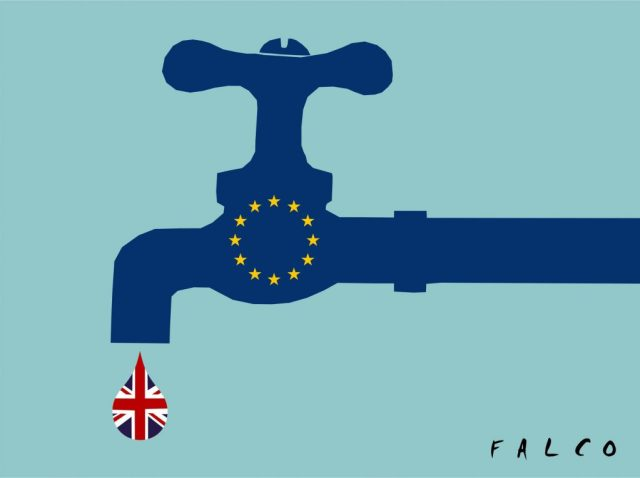 Brexit drop