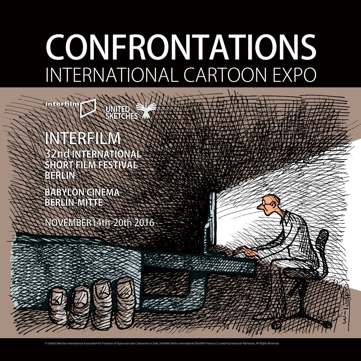 Confrontations International Cartoon Expo - Berlin