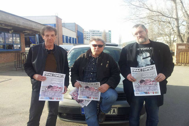 'Bulgaria's Charlie Hebdo' Blocked From News Stands