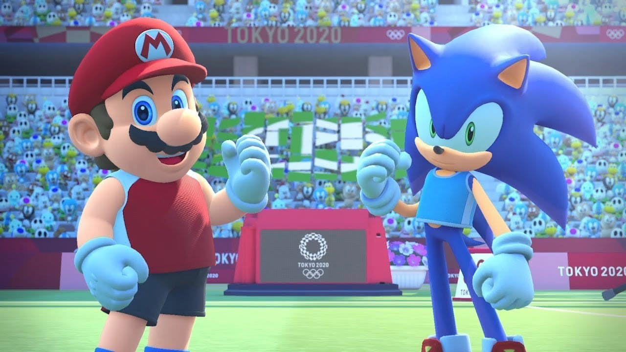 Mario & Sonic at the Olympic Games Tokyo 2020 for Nintendo Switch.