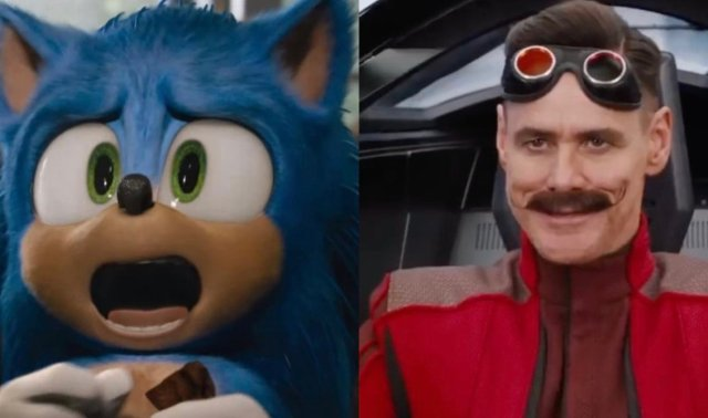 Jim Carrey Disappointed By Sonic The Hedgehog S Redesign United Squid