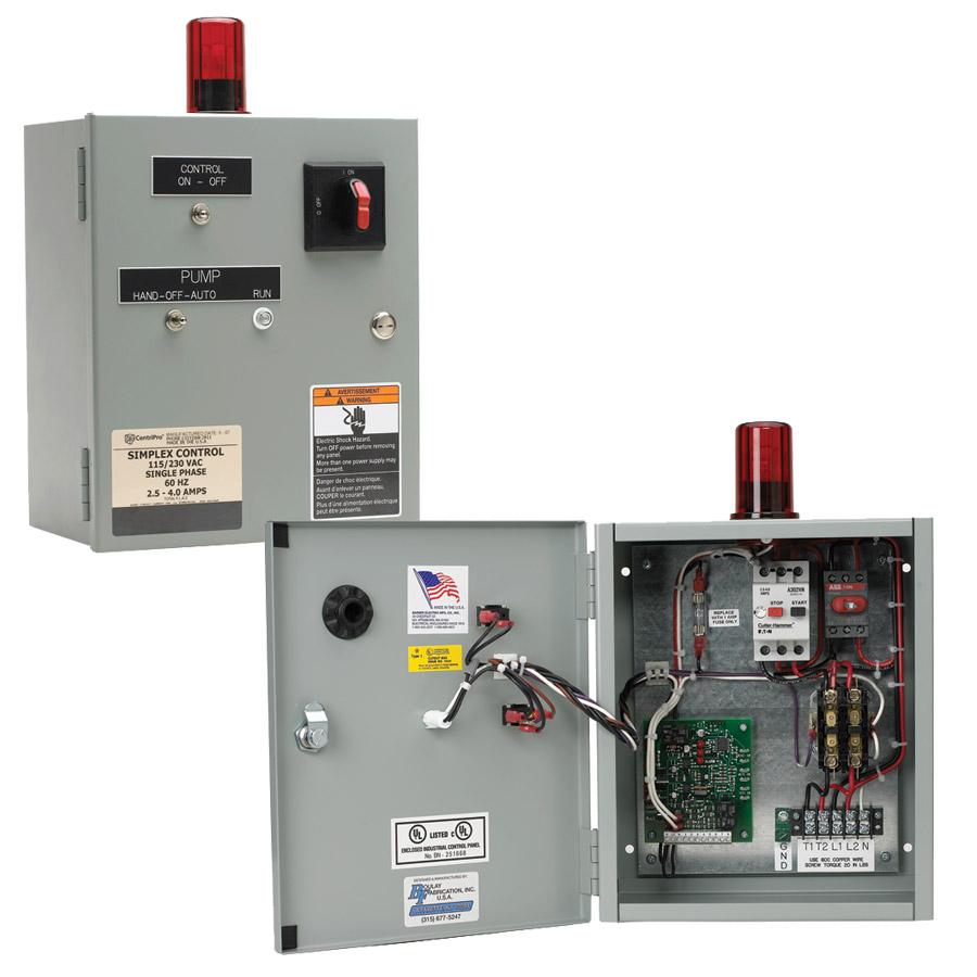 Water Pump Control Panel Wiring Diagram